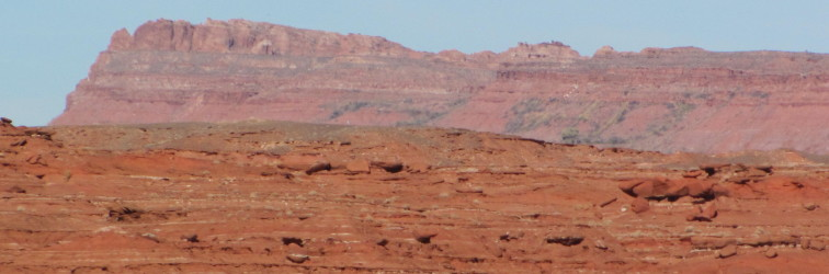 Red rocks in Navajo Nation