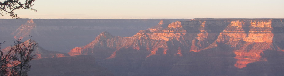 Thanksgiving Sunset at the Grand Canyon