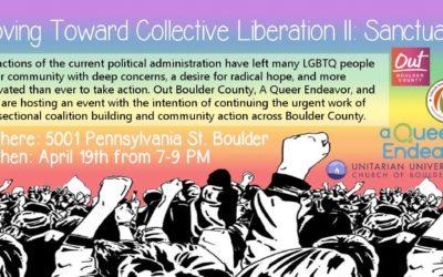 Moving toward Collective Liberation II: Sanctuary