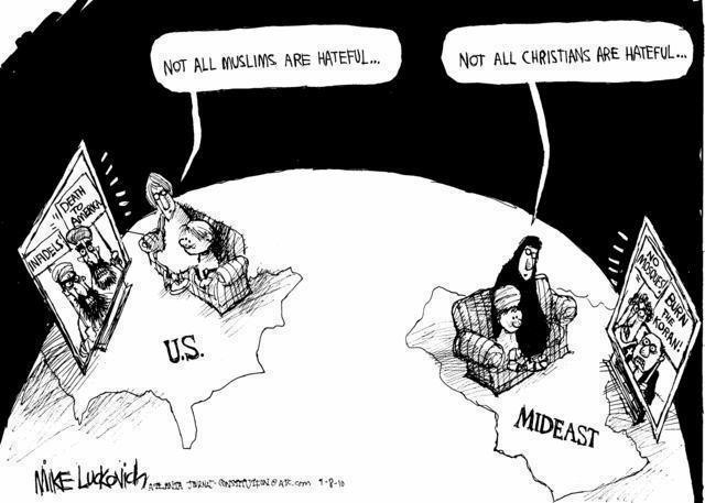 Cartoon   The Muslim Guy