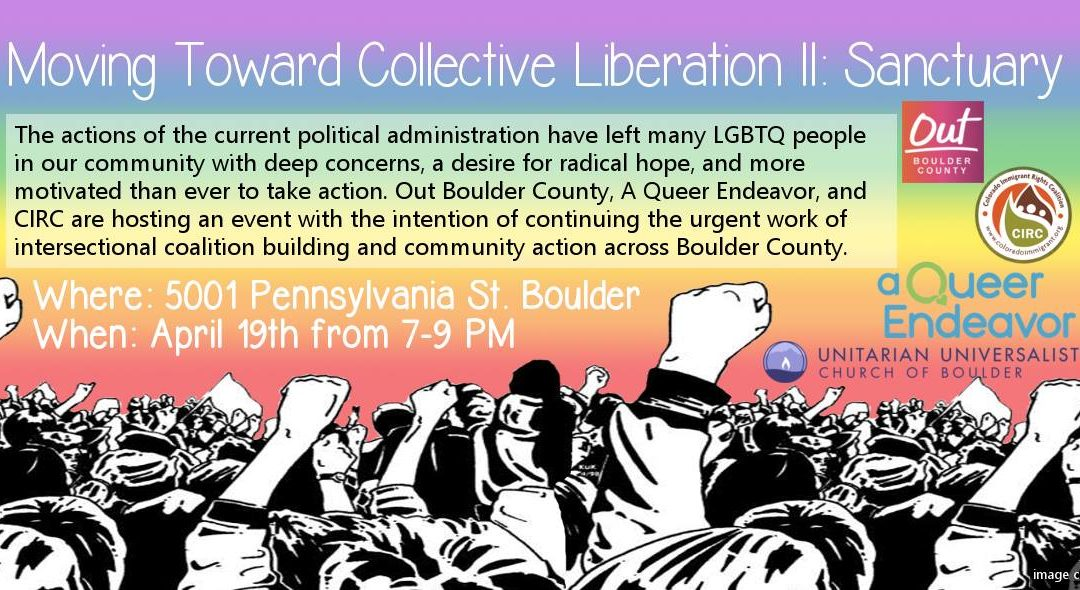 Moving toward Collective Liberation II: Sanctuary